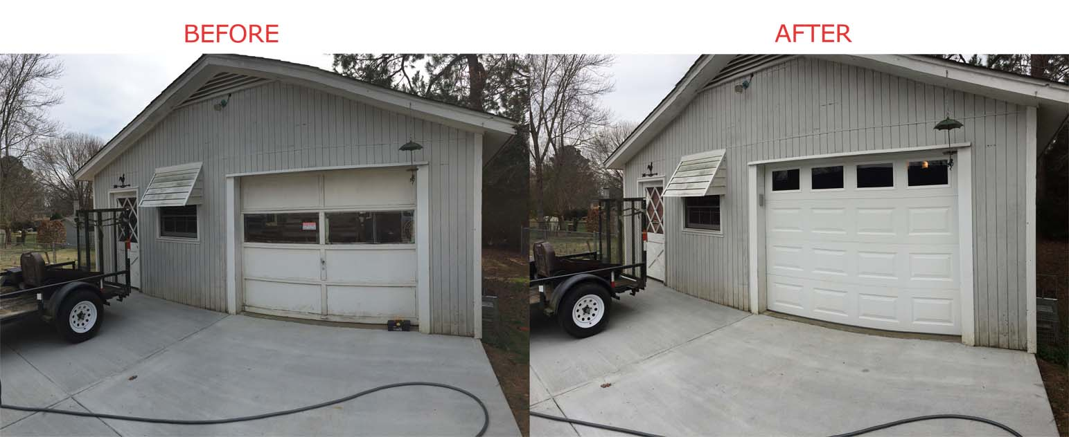 garage door services repair replacement